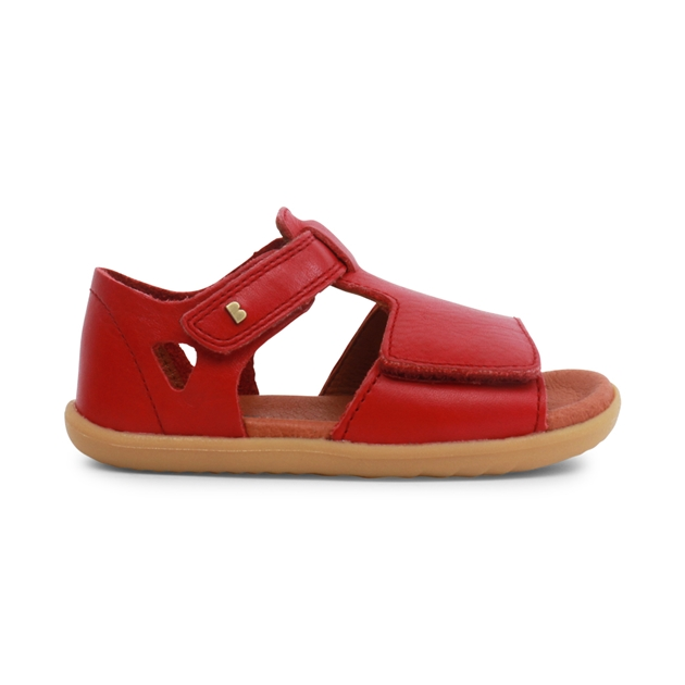 Bobux Step Up Mirror Open Sandal - rio red