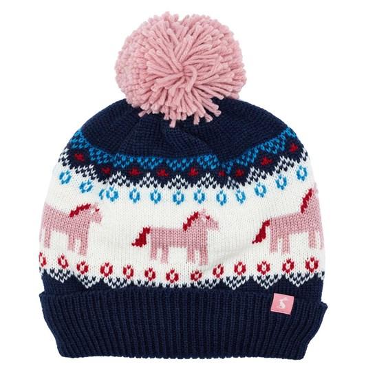Joules Fallbury Fairisle Hat