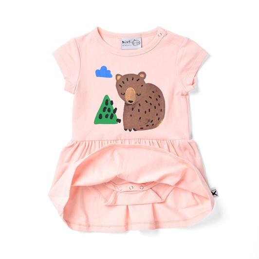 Minti Bear Cub Onesie Dress