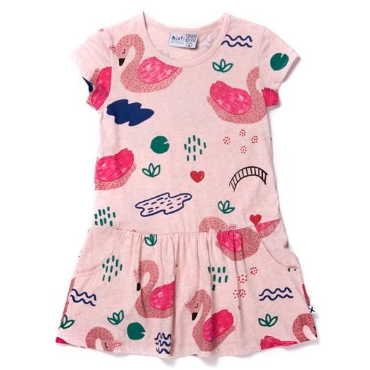 Minti Swan Garden Dress