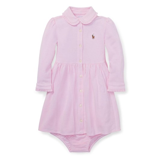 Polo Ralph Lauren Knit Mesh Oxford Dress