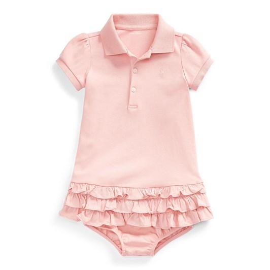 Polo Ralph Lauren Ruffled Polo Dress & Bloomer