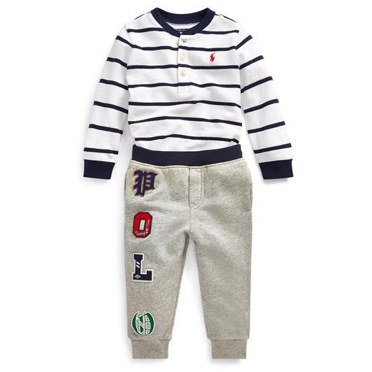 Polo Ralph Lauren Cotton Henley & Jogger Set