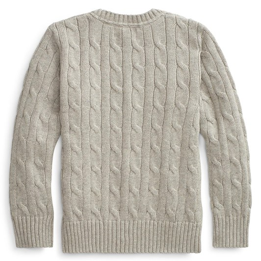 Polo Ralph Lauren Cable-Knit Cotton Sweater size 2-8