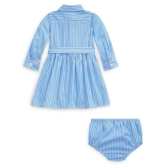 Polo Ralph Lauren Bengal-Stripe Dress & Bloomer