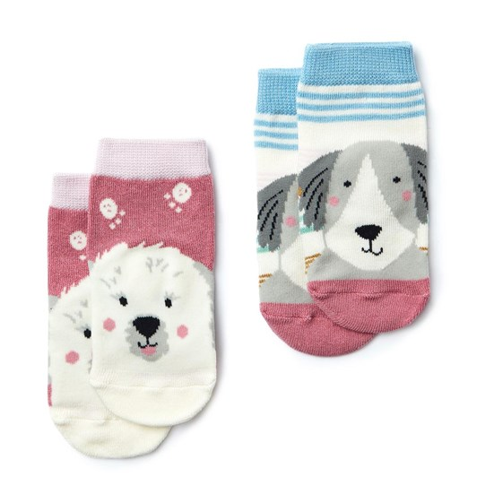 Joules Neat Feet 2 Pack Character Socks
