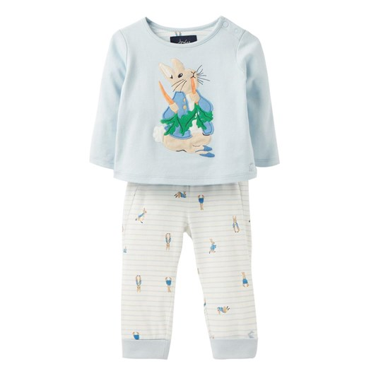 Joules Byron Applique Top And Trouser Set 0-24 Months
