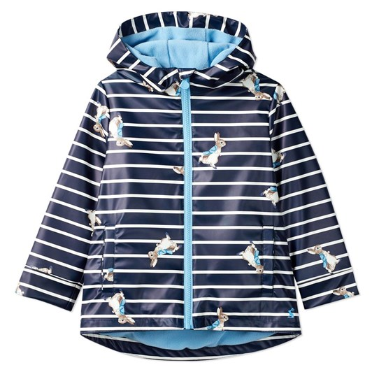 Joules Skipper Official Peter Rabbit™ Showerproof Rubber Coat 1-6 Years