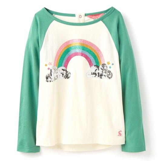 Joules Lorna Raglan Sleeve T-Shirt 1-6 Years
