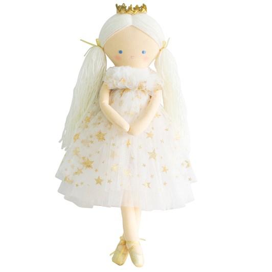 Alimrose Penelope Princess Gold Star Tulle 50cm