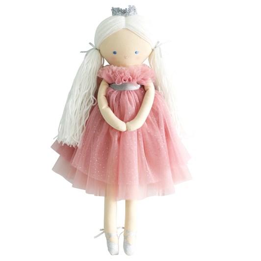 Alimrose Penelope Princess Sparkle Blush Tulle 50cm