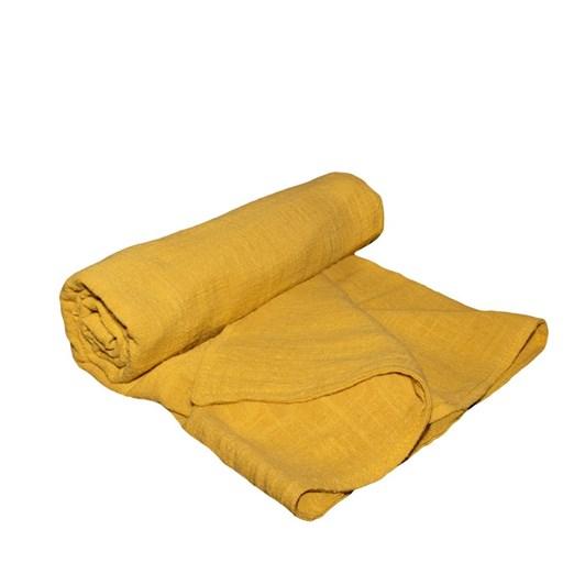 Lily & George Mustard Muslin Blanket