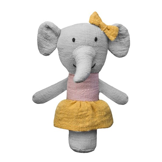 Lily & George Effie Elephant Stick Rattle