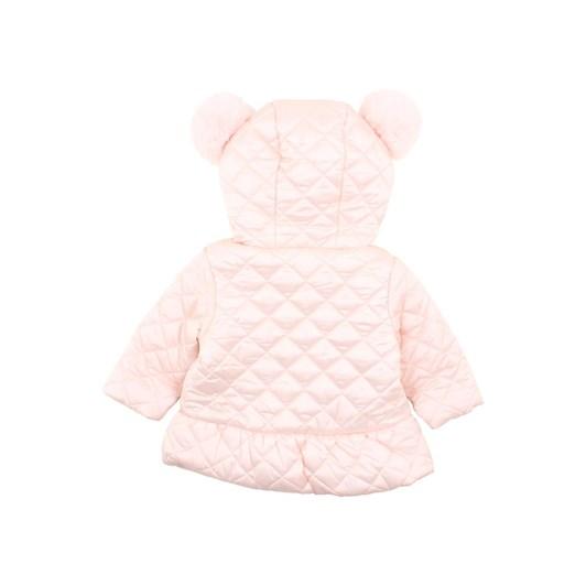 Bebe Rose Quilted Coat W Hood