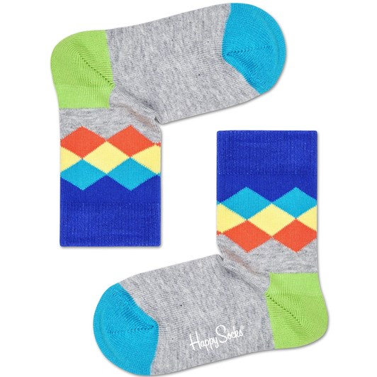 Happy Socks Faded Diamond Sock