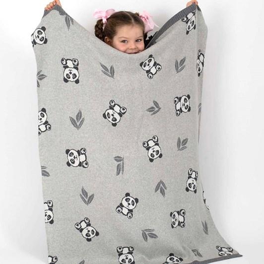 Indus Panda Bao Bao Blanket
