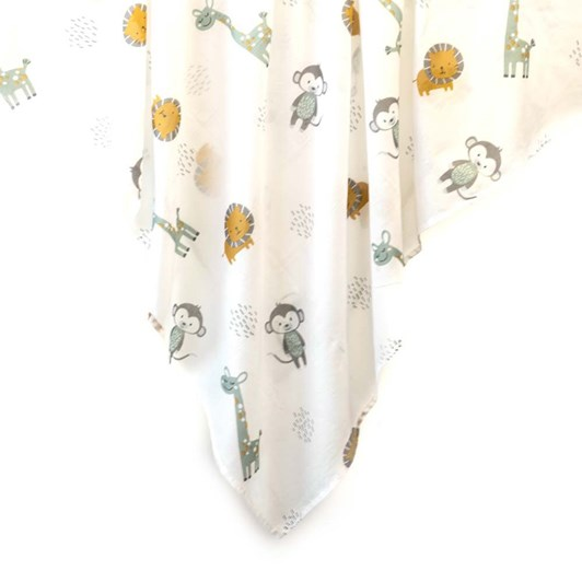 Indus Jungle Friends Baby Wrap