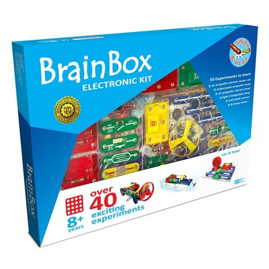 Brain Box Car & Boat Experiment Kit