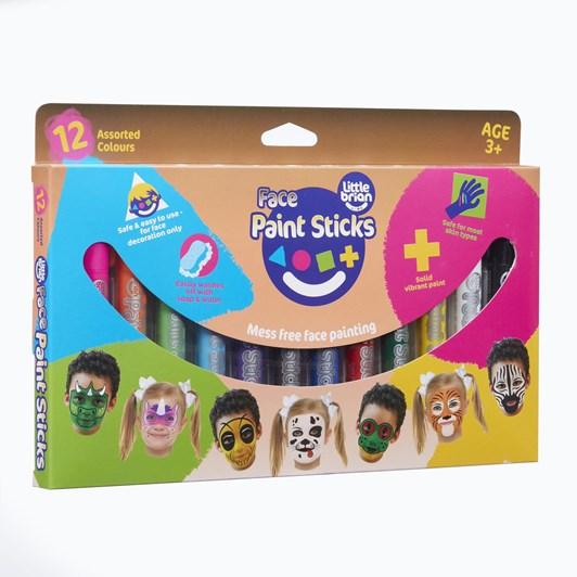 Little Brain Classic Face Paint Sticks Classic 12