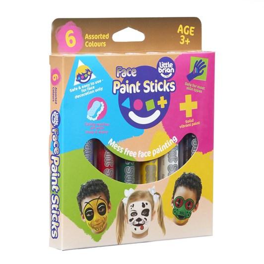 Little Brain Classic Face Paint Sticks Classic 6