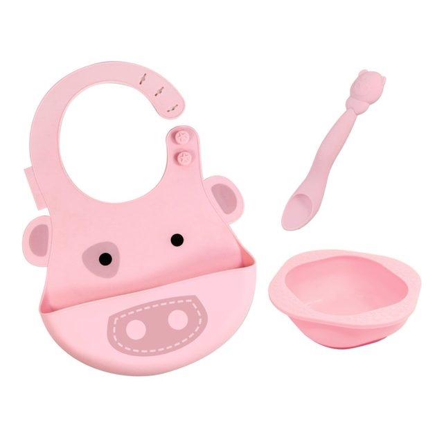 Marcus & Marcus Baby Feeding Set Pig - pig