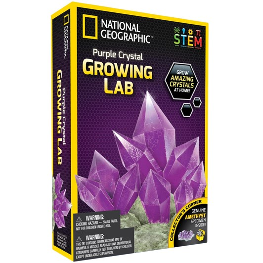 National Geographic Ng Purple Crystal