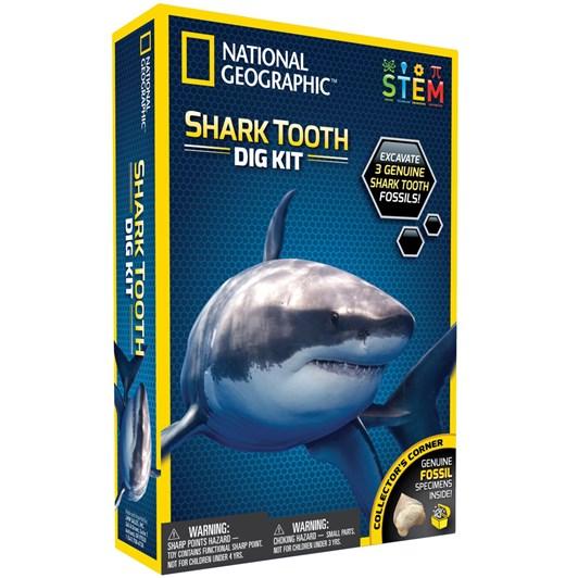 National Geographic Ng Shark Dig Kit