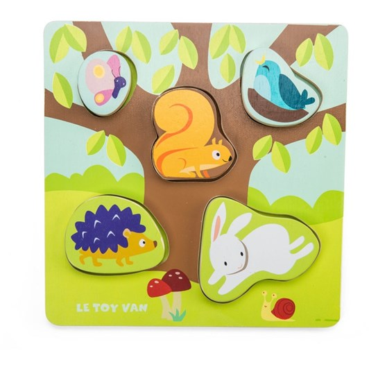 Le Toy Van Petilou Mama-Baby Counting Puzzle