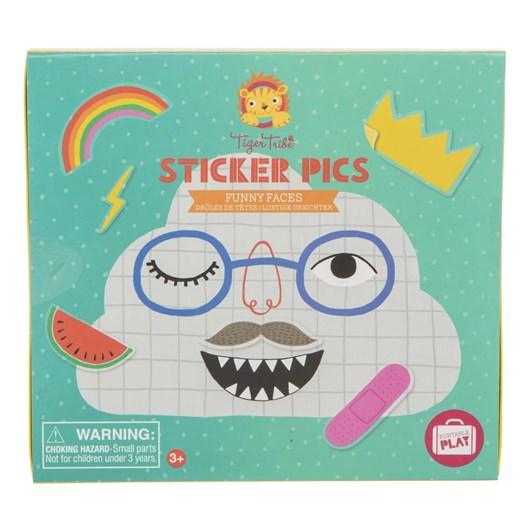 Tiger Tribe Sticker Pics Funny Faces