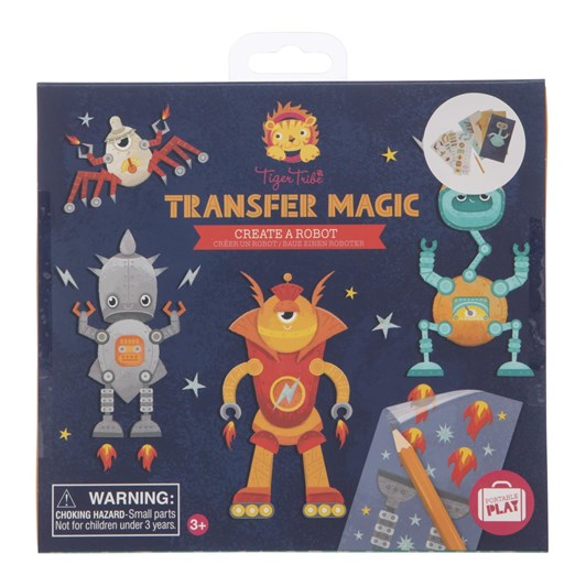 Tiger Tribe Transfer Magic Create A Robot