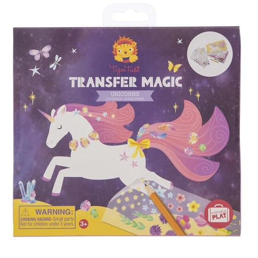 Tiger Tribe Transfer Magic Unicorn