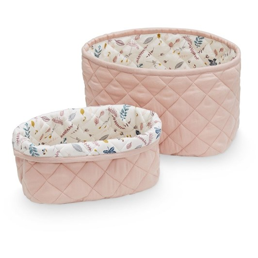 Cam Cam Quilted Storage Basket Set Of Two