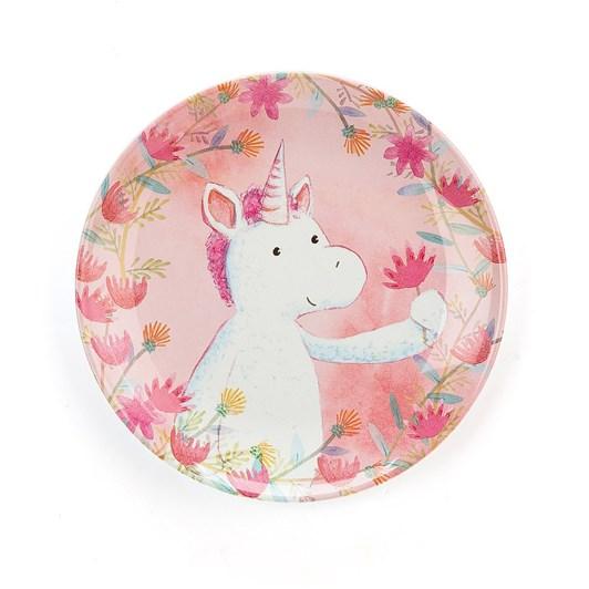 Jellycat Unicorn Dreams Melamine Plate