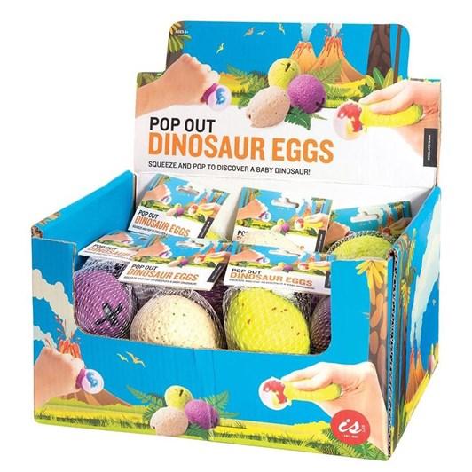 Is Gift Pop Out Dinosaur Eggs Asst