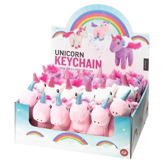 Is Gift Plush Unicorn Keychain With Sound
