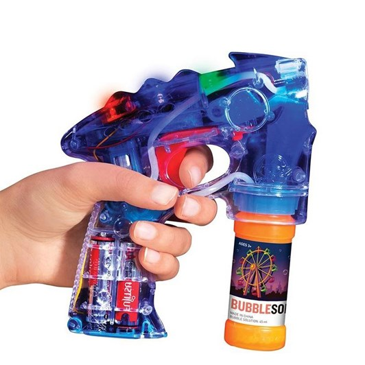 Is Gift Light Up Bubble Blaster
