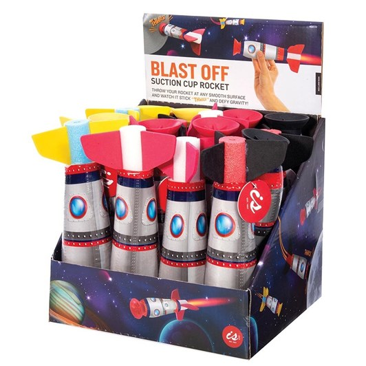 Is Gift Blast Off - Suction Cup Rocket