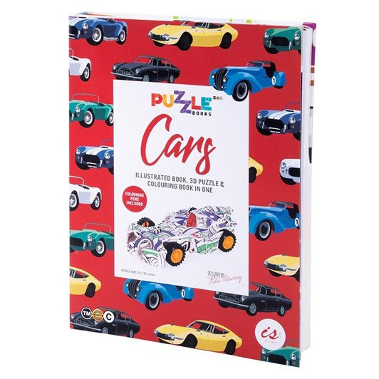 Is Gift Puzzle Book - Cars