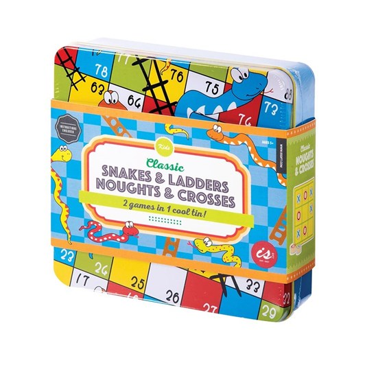 Is Gift Classic Snakes & Ladders Plus In A Tin