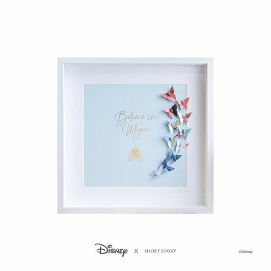 Short Story Disney Large White Frame Cinderella
