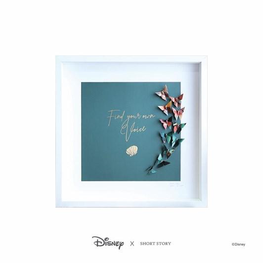 Short Story Disney Large White Frame Little Mermaid