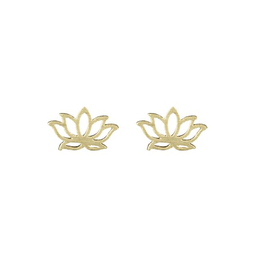 Short Story Disney Earring Jasmine Lotus Gold