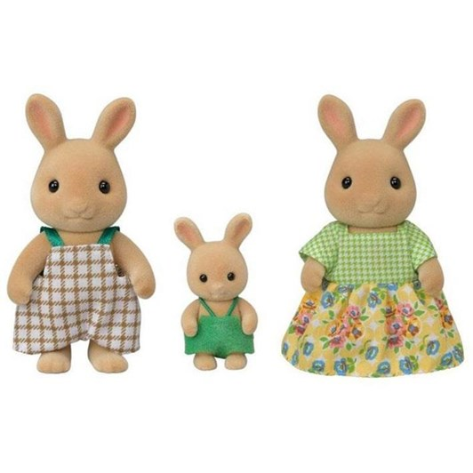 Sylvanian Families Sunny Rabbit Family 3 Figures