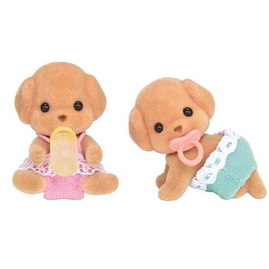 Sylvanian Families Toy Poodle Twins