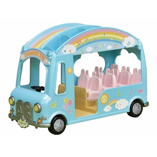 Sylvanian Families Baby Sunshine Nursery Bus