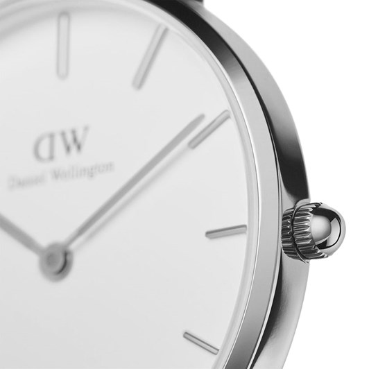 Daniel Wellington Petite 32mm Sheffield Silver White Watch
