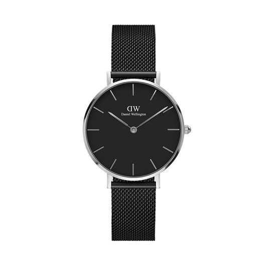 Daniel Wellington Petite 32mm Ashfield Silver Black Watch