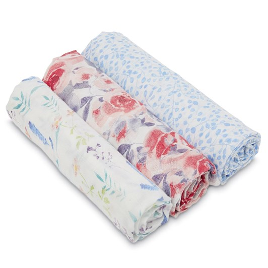 Aden + Anais 3 Pack Silky Soft Bamboo Swaddles