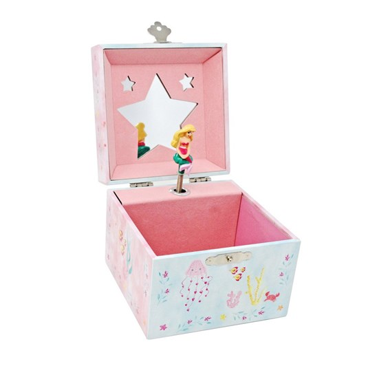 Pink Poppy Wish Upon A Starfish Small Music Box