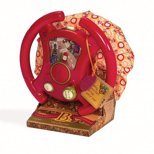 B Toys You Turns Driving Wheel